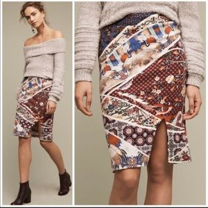 MAEVE • ANTHROPOLOGIE Vannia Pencil Skirt